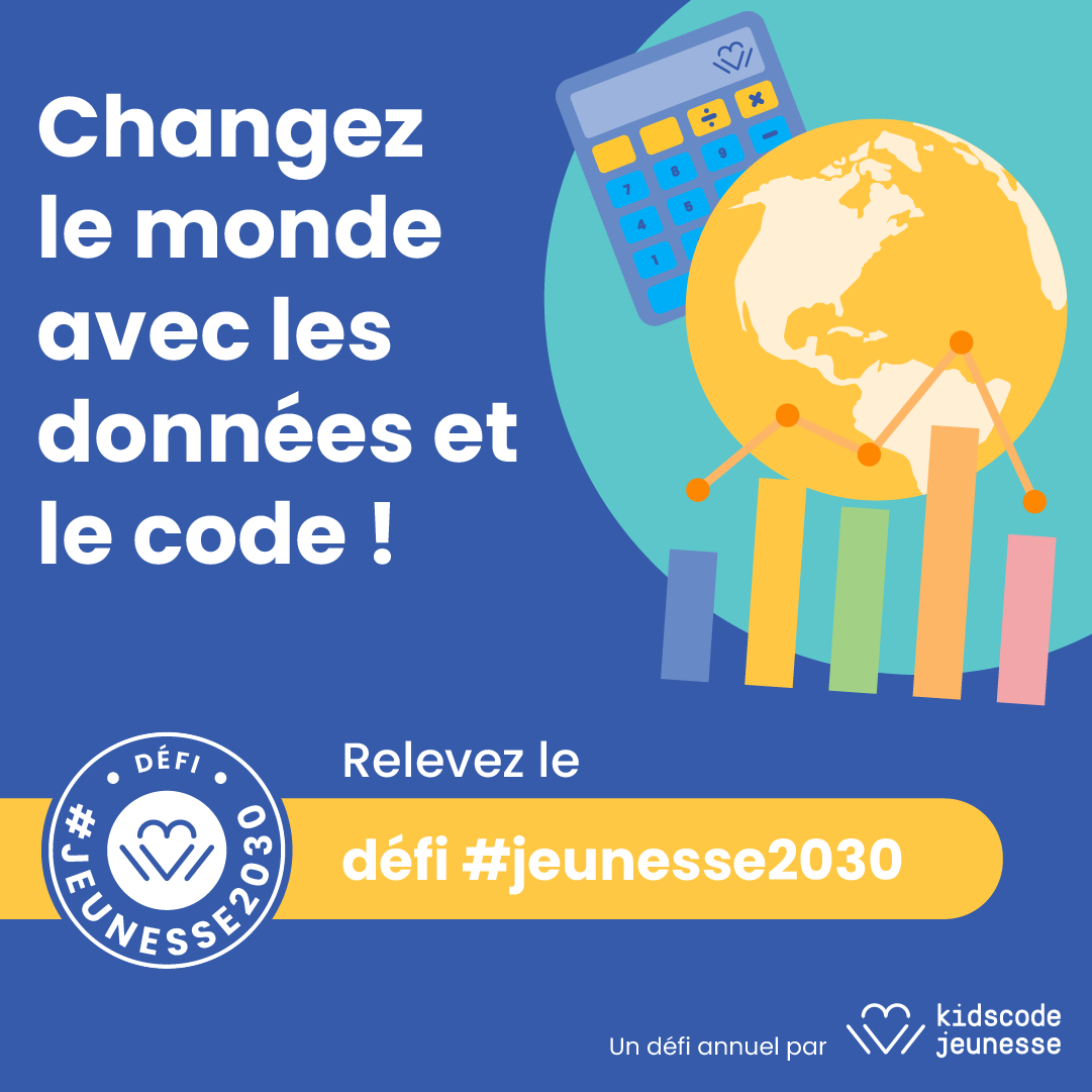 Change the world with data and code